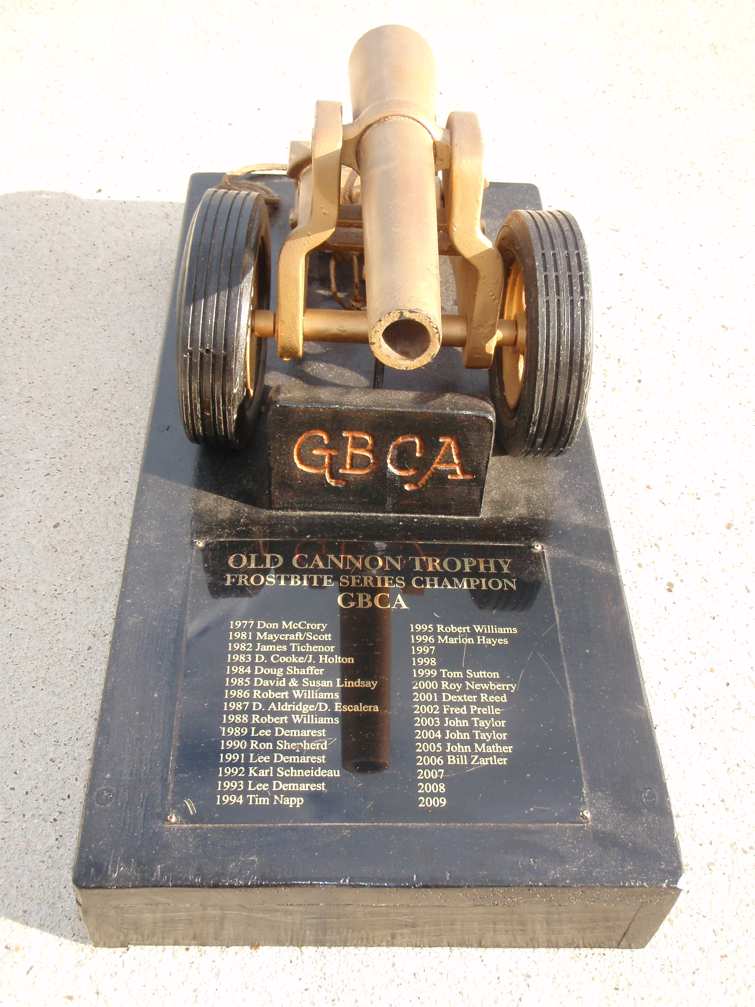 The Cannon Trophy