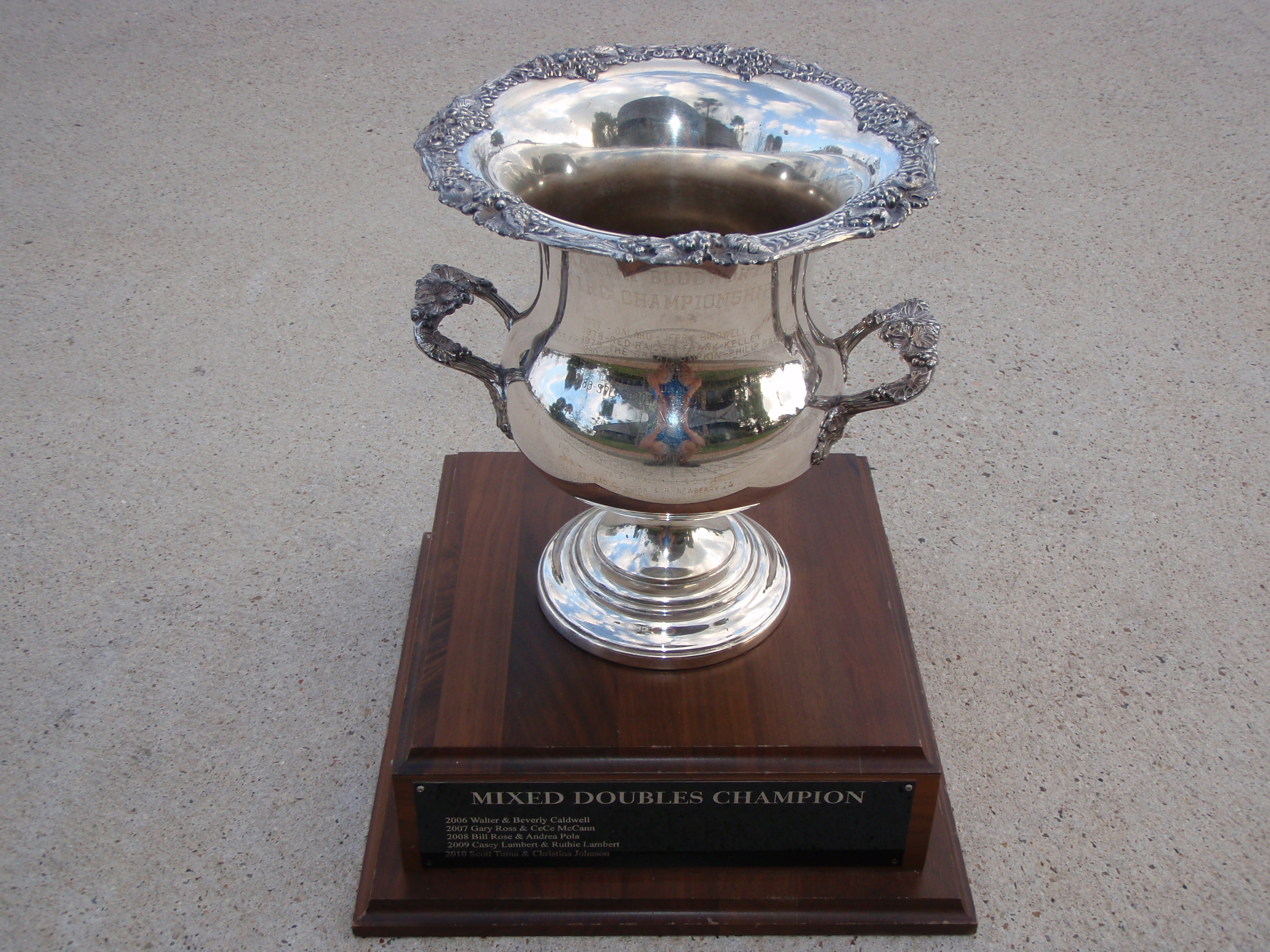 Mixed Doubles Trophy